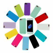 Jelly Case Shockproof Silicone Rubber Gel Cover Skin For Apple iPhone 7 Plus 5.5