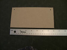 """5 X PLAQUES  8"""" x 4""""   MEDITE PREMIER 3mm MDF Blank wooden plaques signs"""