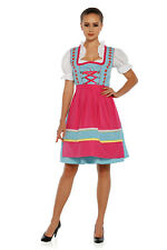 1309 - 3 pc Dirndl Dress Trachten Oktoberfest 4,6,8,10,12,14,16,18,20,22
