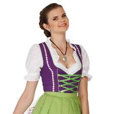 1323 - 3 pc Dirndl Dress Trachten Oktoberfest 4,6,8,10,12,14,16,18,20,22