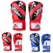 PU leather Boxing Gloves Sparring Kickboxing Training Punching Bag Red/Blue