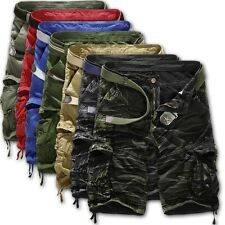 New Mens Summer Shorts Army Camouflage Combat Camo Cargo Shorts Pants Trousers