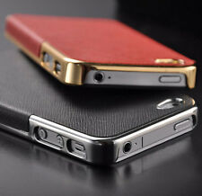 Luxury Chrome Hard Back Case Cover For Apple iPhone SE & 5S 5 iPhone 4S 4