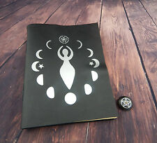 Real Book Of Shadows Leather Book 280 Pages of Spells & Rituals, Wicca, Witch