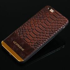 Luxury Retro Ultra Slim Leather Back Case Cover For Apple iPhone 6 6S 7 Plus