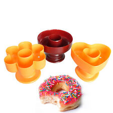 Donut Cake Mold Silicone Chocolate Mould Baking Candy Pan Cookie Cupcake Muffin