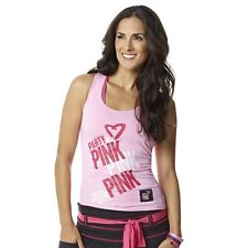 Zumba Party In Pink Racerback A0P00175