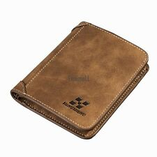 Men PU Leather Coin Purse Pockets Card Holder Clutch Wallet LM01