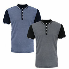 Mens Polo Shirt by Designer Brave Soul Cotton Short Sleeve Collared New M - XXL
