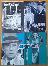 Selection of individual NFT (National Film Theatre) & Arts Cinema booklets