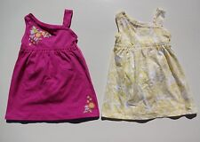 OLD NAVY GIRLS DRESS SLEEVELESS JERSEY FLORAR     18-24 AND 2T  NWT