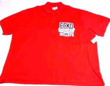 NWT $54.00 Men's BIG & TALL Red ECKO UNLIMITED Polo Shirt Embroidered!