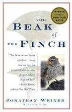 THE BEAK OF THE FINCH - JONATHAN WEINER (PAPERBACK) NEW