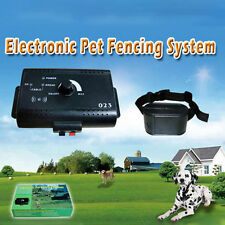 Dog Pet Waterproof  Underground Electronic Wireless Fence Containment System