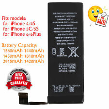 Pro 1560mAh Li-ion Battery Replacement with Cable for iPhone 5S/5C/6/6plus FY