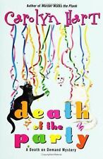 Death of the Party (Death on Demand Mysteries, No. 16) Hart, Carolyn Hardcover