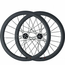 50mm Clincher Carbon Wheels Road Bicycle Road Bike Track Fixed Gear Wheelset