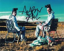 Breaking Bad Cast Signed x2 (Walter & Jesse Pinkman) '000' PP POSTER +Laminated