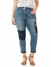 New Catherines Plus Limited Edition Denim Jeans Regular Petite NWT Distressed