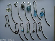 Bookmarks - Handmade - Tibetan Silver / Charms / Beads / Bronze  - Large Variety