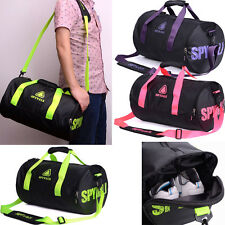 Sports Unisex Carry On Travel Overnight Duffle Gym Sport Backpack Weekend Bag