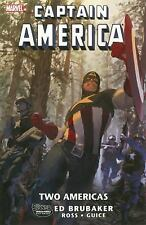 Captain America: Two Americas by Ed Brubaker Marvel TPB Like New! FREE SHIPPING!
