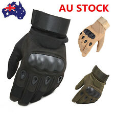 AU Full Finger Military Hunting Cycling Airsoft Sports Outdoor Tactical Gloves