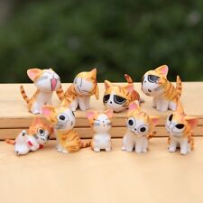 """Emoji Kittens Cake Topper Chis Chi Sweet Home Figures 1-1/4"""" - 2"""" (4 Colors)"""