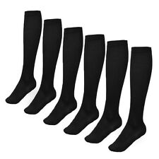 Socks Men's  6 Pairs Over The Calf Socks Athletic Socks Black Mens