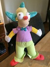 """The Simpsons - Official Krusty The Clown 12"""" Plush Soft Toy"""