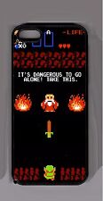 Zelda cell case -  iPhone iPod Samsung Its Dangerous to Go alone Take this Link