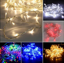 20/40/50/100/200/300/500 LED Fairy String Lights Wedding Xmas Outdoor/Indoor