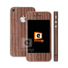 Apple iPhone 4-Wood Skin Decal Vinyl Cover Case Sticker