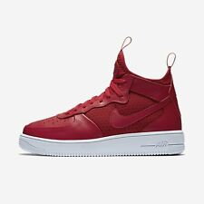 NIKE MEN AIR FORCE 1 ULTRAFORCE MID SHOE GYM RED 864014-600 US7-11 01'