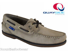 QUAYSIDE CLIPPER PORTUGUESE HAND CRAFTED  DECK SHOES SUPERB LEATHER BOAT SHOES
