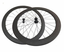 50+60mm Clincher Carbon Wheels R36 Road Bike Straight Pull Hubs 1479g Wheelset