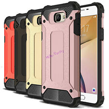 For Samsung Galaxy J7 2017 Case Shockproof Armor Dual-layer Protective Cover