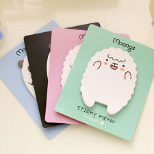 2x Sheep / Panda Sticky Notes Sticker Bookmarker Memo Pad Home Office Class RJ0