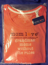 Womens T-Shirt Adult Shirt Top - Grandmas : Moms without the rules NEW Small S