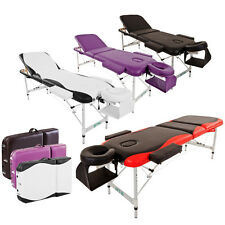 BTM Folding Portable Massage Table Bed SPA Couch Beauty Therapy Lightweight