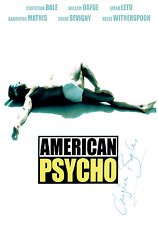 American Psycho - 000 - Cast Signed by Christian Bale