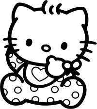 Hello Kitty - Baby - Vinyl Car Window and Laptop Decal Sticker