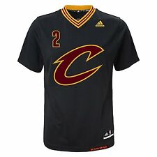 Kyrie Irving Cleveland Cavaliers Adidas NBA PRIDE Black Replica YOUTH Jersey