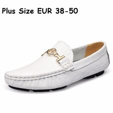 Men's Shoes Drivers Loafers & Slip Ons Black Brown Casual Dress Shoes Moccasin
