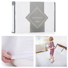 Waterproof Mattress Cover Pad Soft Protector Noiseless Hypoallergenic Bed Sheet