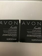 Avon (2) Ideal Flawless Cream to Powder Foundation Choose Your Shade New
