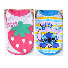 Small Dog Clothes Puppy Cat Pet Clothing Vest Tee Shirt Apparel Costume XS S M L