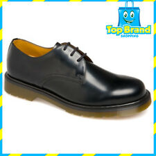 Dr Martens Unisex Mens Womens 1462 PW Polished Shoe Dress Smooth black
