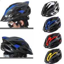 Adult Safety Cycling Carbon Helmet Road Mountain Bicycle Bike Head Protect