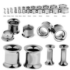 MagiDeal Stainless Steel Punk Flared Ear Plug Expander Stretcher Tunnel Piercing